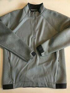 Under Armour New Quilted Loose Fit 1/2 Zip Pullover Jacket Men's Large 0695