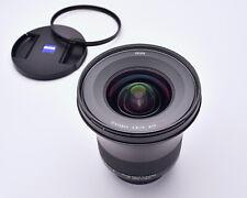 Zeiss Milvus ZE Distagon f/2.8 15mm T* Wide Angle Lens Caps B+W 95mm (#5660)