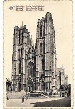 bruxelles  eglise sainte-gudule  belgique