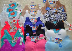 Hanes Women's ComfortFlex Fit Cozy Wirefree Bra - S/M/L/XL/2XL/3XL  *Pick*