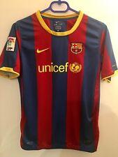 Genuine Barcelona Hogar Camiseta De Fútbol Soccer Juventud XL 158-170 cm 2010/2011