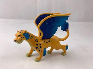 "Jakks Disney Elena of Avalor SKYLAR 5"" Figure Winged Leopard TOY Yellow Blue"