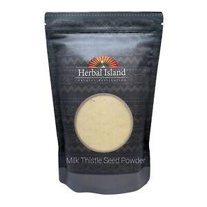 Milk Thistle Seed Powder - 16 oz or 1 lb - (Silybum Marianum) Free Shipping