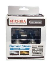 Michiba Diamond Vision Super White Xenon Upgrade Halogen Headlight Bulbs Set