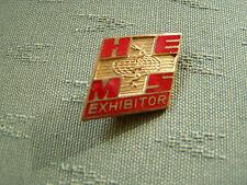 OLD HEMS HELICOPTER EMERGENCY MEDICAL SERVICE EXHIBITOR - ENAMEL PIN BADGE
