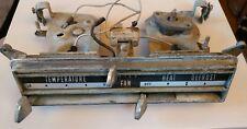 THUNDERBIRD FORD DASH VENT AC AIR HEAT HEATER CONTROL SWITCH TRIM OEM 1961-1963