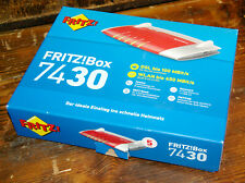 Fritzbox 7430 Wlam Modem mit integriertem DSL Modem