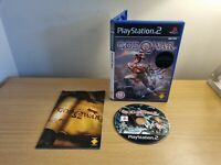 PLAYSTATION 2 - PS2 - GOD OF WAR - COMPLETE WITH MANUAL - FREE P&P