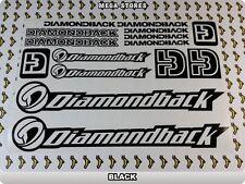 "DIAMONDBACK Stickers Decals Bicycles Bikes BMX MTB Cycles ""DIFFERENT COLORS"" 57C"