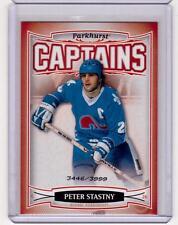 PETER STASTNY 06/07 Parkhurst CAPTAINS Insert Card #175 Quebec Nordiques /3999