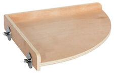 Wood Corner Platform (Small) - Cage Shelf - Sugar Glider, Squirrel, Hamster