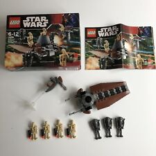 LEGO Star Wars Droids Battle Pack Set 7654 100% Complete With Box & Instructions
