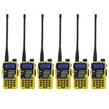 Us 6x Baofeng Uv-5R Plus Dual Band V/Uhf Two Way Ham Radio + 18cm Antenna >Uv-5R