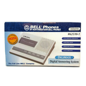 Bell Phones Digimate Digital Answering System 62510-1 White