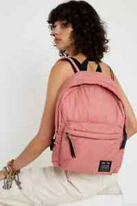 Urban Outfitters Puffer Pink Backpack New With Tags Free UK P&P