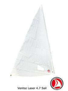 La vela Ventoz Laser 4.7 - Bianco