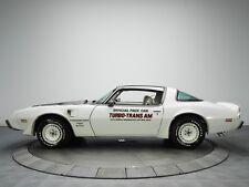 1980 PONTIAC TURBO TRANS AM PACE CAR POSTER   24 x 36 INCH   CLASSIC CAR