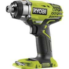 New Ryobi One+ 18V Cordless Impact Driver 3 Speed Skin Only
