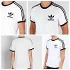 Genuine Adidas Mens California Trefoil Tees Crew Neck Retro T Shirt S M L XL