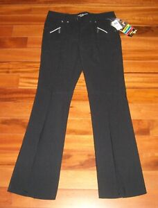 NWT  Women's Jamie Sadock Golf Long Pants Color Black Size 14