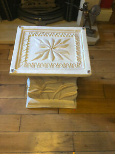 Stunning stone and Glass Coffee Table and Toughened Glass