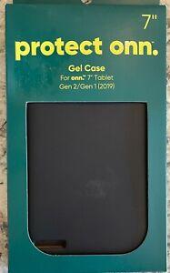"""Black GEL Case for 7"""" onn Tablet GEN2 / GEN1 (2019)"""