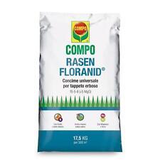 COMPO RASEN FLORANID UNIVERSALE CONCIME GRANULARE PRATO GIARDINO KG.17,5 FERTILI