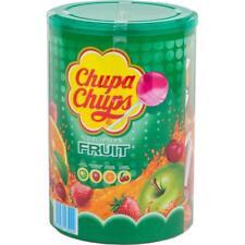 Chupa Chups Lollipops Fruit 100 stück - Apfel,Erdbeere,Orange,Kirsch (1er Pack)