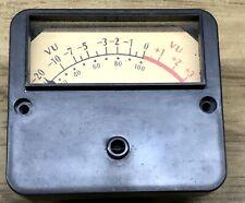 New listing Ampex Mr-70 Vu Meter Vintage - Not working