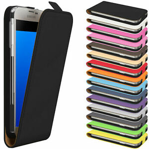 EAZY CASE for Samsung Flip Case Cover Protective Case Faux Leather Phone Case