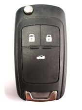 Replacement 3 button flip key case for Vauxhall Opel Insignia Astra remote fob