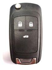 Reemplazo de 3 botones Flip clave Funda Para vauxhal Opel Insignia Astra Zafira Remoto