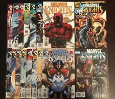 MARVEL KNIGHTS #1-15 Vol 1 FULL RUN LOT COMPLEAT #1 is a VARIANT Daredevil in NM