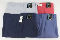 NEW Roundtree & Yorke Performance Size 38 Classic Flat Front Men's Shorts NWT