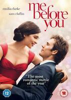 Me Before You DVD (2016) Emilia Clarke, Sharrock (DIR) cert 12 ***NEW***