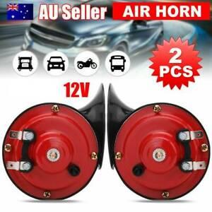 2PCS Universal 300DB Car Horn Super Train Horn For Trucks Boat Motorcycles Horns