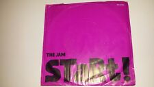 "THE JAM Start! POLYDOR 3255 PROMO NM 45 7"" VINYL RECORD PS"