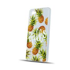 ^ Bunt Muster Ananas Pineapple Leaves Back Case Schutz Etui LG K10 2017