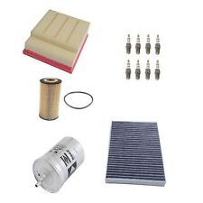 Audi S4 2008 V8 4.2L Cabrio Spark Plugs Oil Cabin Air & Fuel Filters Tune Up Kit