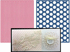 SPOTTED Lifestyle Crafts Embossing Folders EF0024 polka dot embossing folder