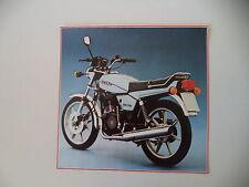 - RITAGLIO DI GIORNALE ANNO 1981 - MOTO GILERA 200 T4 S