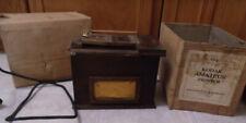 Antique Eastman Kodak Amateur Printer Wood Box Contact Printer 1918 Working