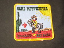 Camp Mountaineer Cub Scout Day Camp 1994 Pocket Patch  cpp