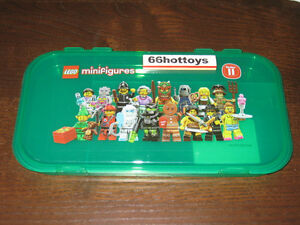 LEGO MiniFigure Storage Case Series 11 NEW