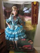 *UK SELLER* RARE BARBIE Alice In Wonderland Doll SILVER LABEL NRFB
