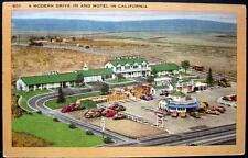 EL SEGUNDO California ~ 1950's PATMAR'S MOTEL ~ AUTO DRIVE IN