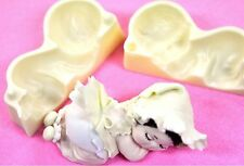 Baby Cutter, Silicone Mold Chocolate Polymer Clay Jewelry Soap Melting Wax Resin