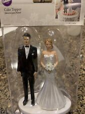 Wilton Wedding Cake Topper, Brand New, Modern Day Couple