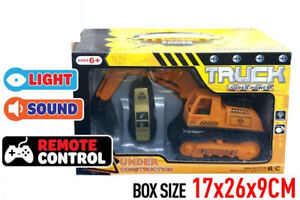 Remote Control Excavator Construction Truck light&Sound Age 6+ Toy Gift AU Post