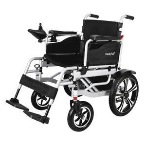 NEU MobilityPlus+ Faltbar Elektrischer Rollstuhl Elektrorollstuhl, Leicht, 6km/h